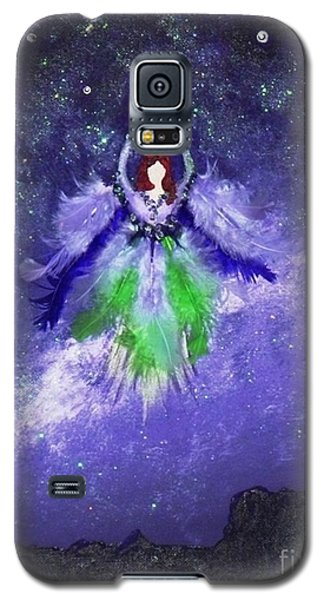 Galaxy S5 Case featuring the painting Survivor by Alys Caviness-Gober