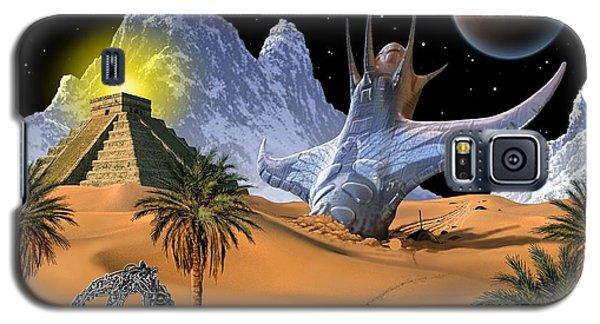 Galaxy S5 Case featuring the digital art Survivor by Scott Ross