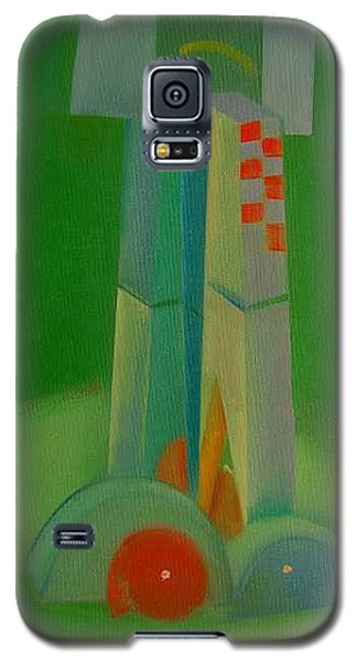 Galaxy S5 Case featuring the painting Survivors by Charles Stuart