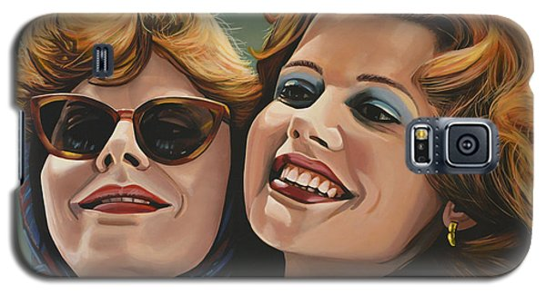 Susan Sarandon And Geena Davies Alias Thelma And Louise Galaxy S5 Case