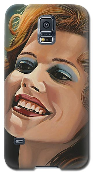 Susan Sarandon And Geena Davies Alias Thelma And Louise Galaxy S5 Case by Paul Meijering