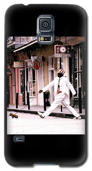 New Orleans Suspended Animation Of A Mime Galaxy S5 Case
