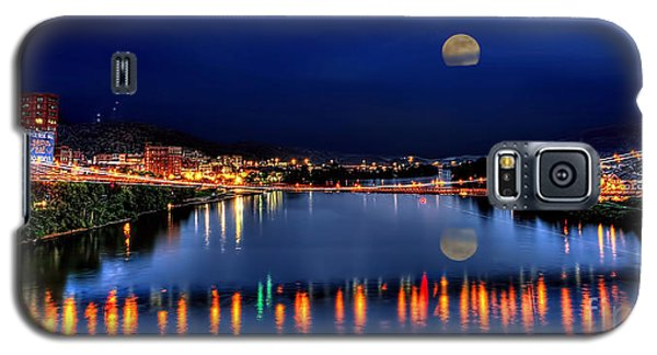 Suspension Bridge Wheeling Wv Panoramic Galaxy S5 Case