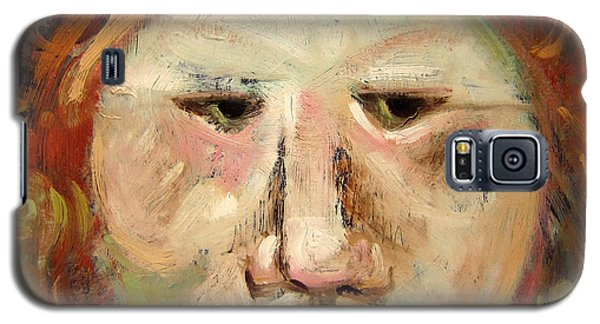 Suspicious Moonface Galaxy S5 Case