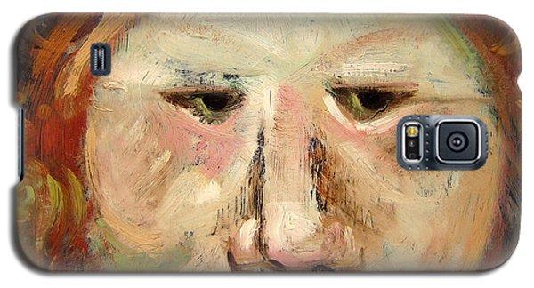 Suspicious Moonface Galaxy S5 Case