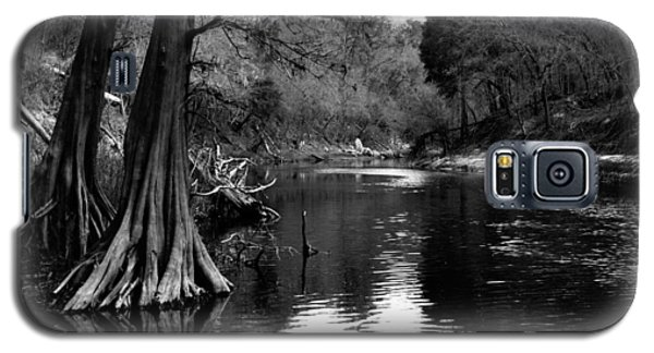 Suwannee River Black And White Galaxy S5 Case by Donald Williams