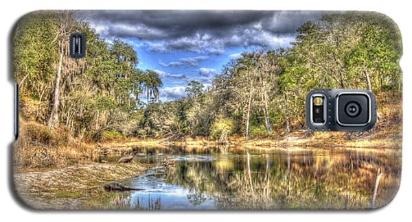 Galaxy S5 Case featuring the photograph Suwannee River Scene by Donald Williams