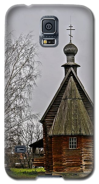 Galaxy S5 Case featuring the photograph Suzdal Wooden Church by Julia Ivanovna Willhite