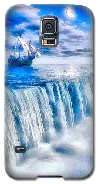 Swallow Falls Galaxy S5 Case