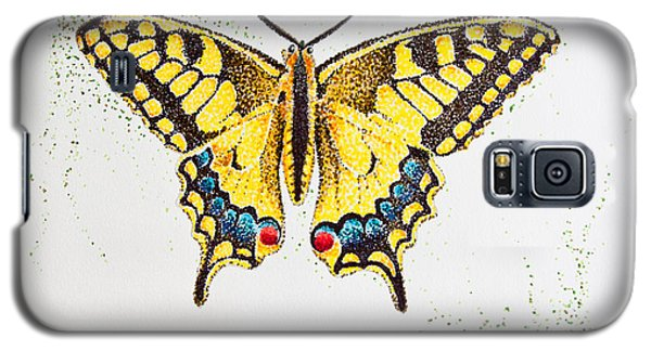Swallowtail - Butterfly Galaxy S5 Case by Katharina Filus