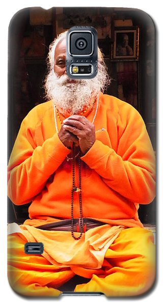 Swami Sundaranand At Tapovan Kutir 4 Galaxy S5 Case