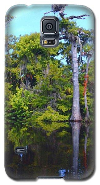 Osprey Galaxy S5 Case - Swamp Land by Carey Chen