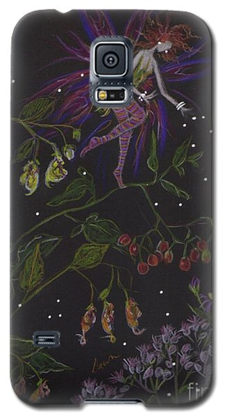 Galaxy S5 Case featuring the drawing Swamp Walk by Dawn Fairies