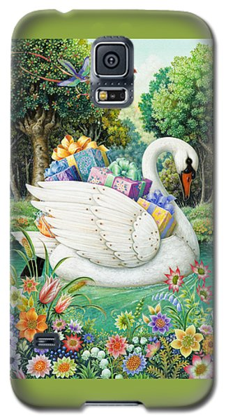 Swan Boat Galaxy S5 Case