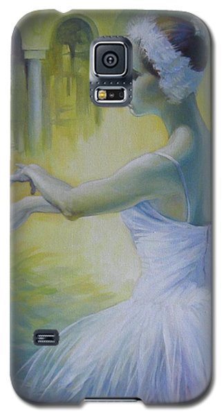 Swan Dance Galaxy S5 Case by Elena Oleniuc
