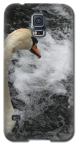 Galaxy S5 Case featuring the photograph Swan Falls by Amanda Eberly-Kudamik