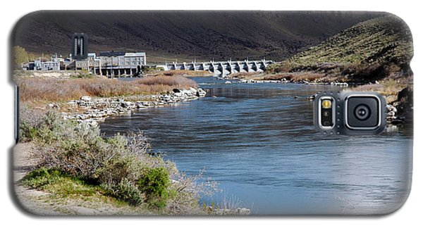 945a Swan Falls Dam Snake River Birds Of Prey Area Galaxy S5 Case