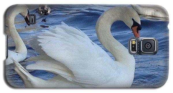Swan Grace Galaxy S5 Case by Pema Hou