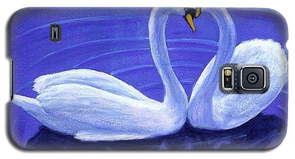 Swan Hearts Galaxy S5 Case