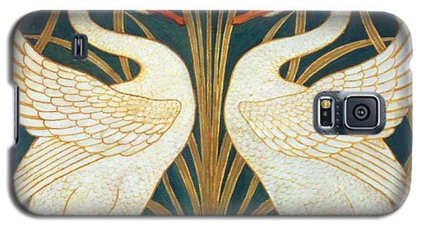 Swan Rush And Iris Galaxy S5 Case