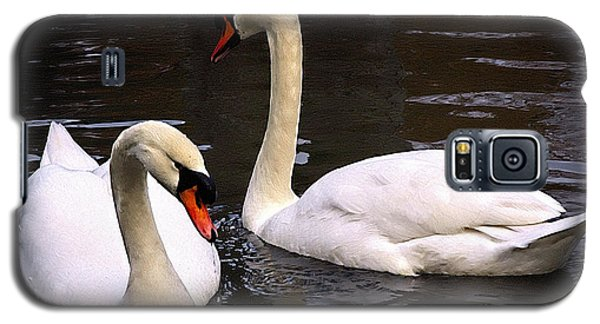 Galaxy S5 Case featuring the photograph Swan Two by Elf Evans