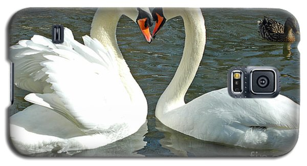 Swans At City Park Galaxy S5 Case
