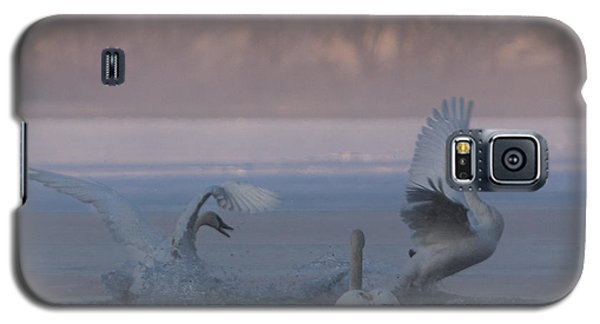 Swans Chasing Galaxy S5 Case by Patti Deters