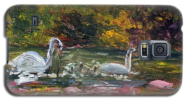 Swans Family Outing Galaxy S5 Case