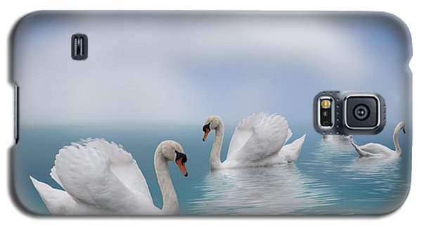 Swans In Paradise Galaxy S5 Case