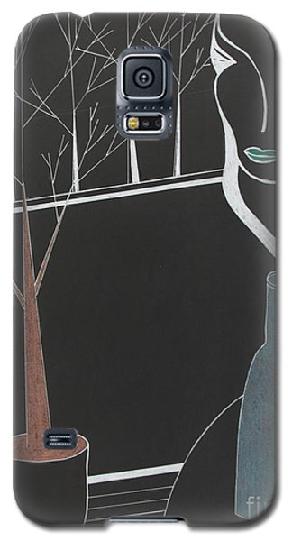 Galaxy S5 Case featuring the painting Swedish Cafe by Bill OConnor