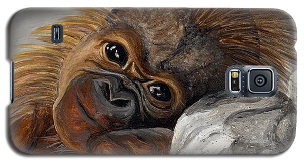 Sweet Baby Monkey Galaxy S5 Case