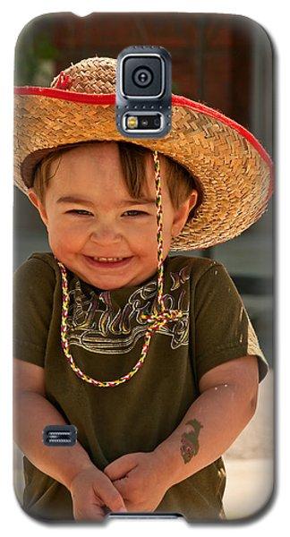 Sweet Boy Cowboy Hat Galaxy S5 Case