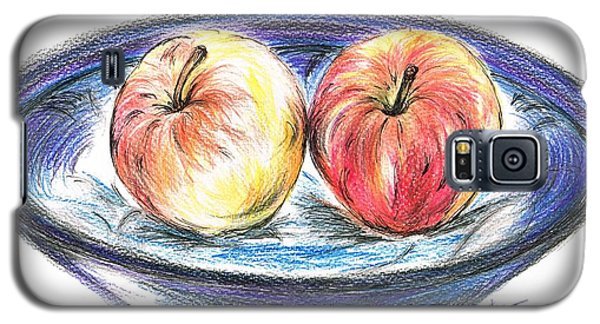 Sweet Crunchy Apples Galaxy S5 Case by Teresa White