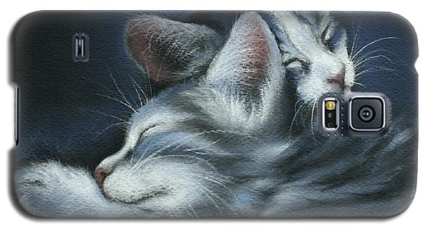 Galaxy S5 Case featuring the drawing Sweet Dreams by Cynthia House