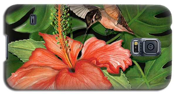 Galaxy S5 Case featuring the painting Sweet Nectar by Anne Beverley-Stamps