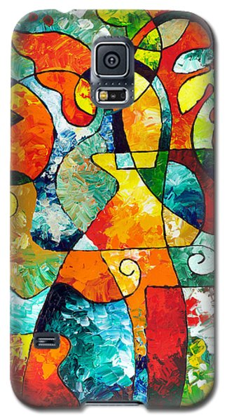 Sweet November Galaxy S5 Case by Sally Trace