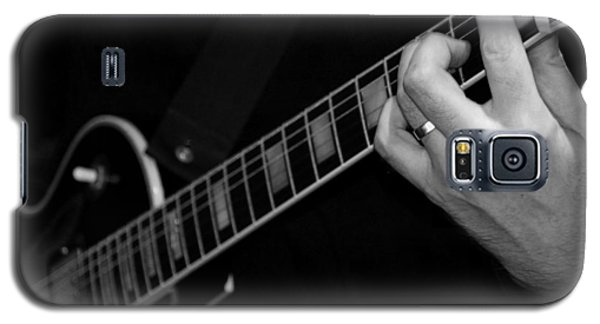 Galaxy S5 Case featuring the photograph Sweet Sounds In Black And White by John Stuart Webbstock