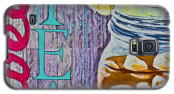 Galaxy S5 Case featuring the mixed media Sweet Tea by Melissa Sherbon