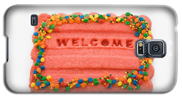 Sweet Welcome Mat Galaxy S5 Case
