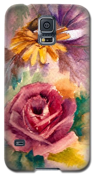 Galaxy S5 Case featuring the painting Sweetness by Ellen Canfield
