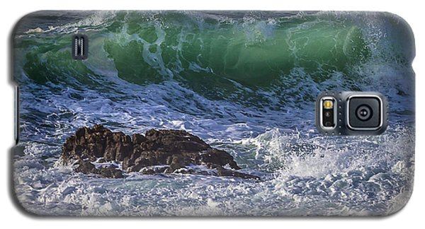 Swells In Doninos Beach Galicia Spain Galaxy S5 Case