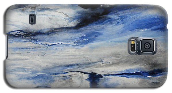 Galaxy S5 Case featuring the painting Swept Away I by Elis Cooke