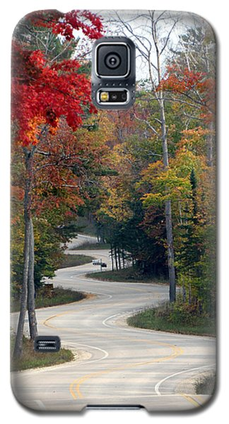Swervy Road At North Port Galaxy S5 Case