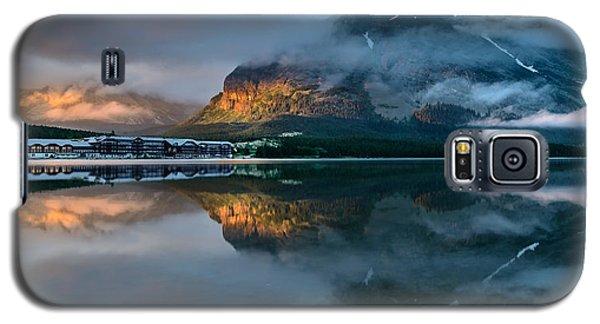 Swiftcurrent Lake Sunrise Galaxy S5 Case