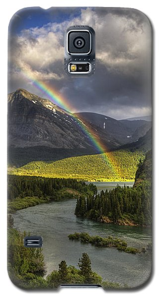 Swiftcurrent River Rainbow Galaxy S5 Case