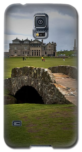 Swilken Bridge Vignette St Andrews Old Course Scotland Galaxy S5 Case