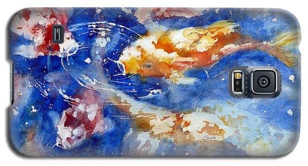 Swimming Koi Fish Galaxy S5 Case