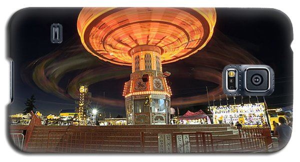 Swing At The Fair Galaxy S5 Case by Bob Noble Photography