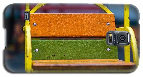 Swinging Rain - Featured 3 Galaxy S5 Case by Alexander Senin