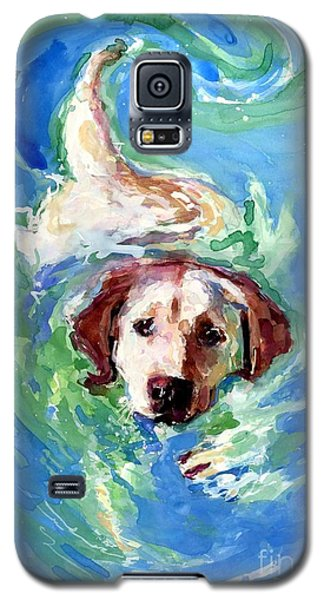 Swirl Pool Galaxy S5 Case by Molly Poole